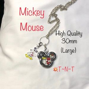Mickey Themed HQ Living Locket